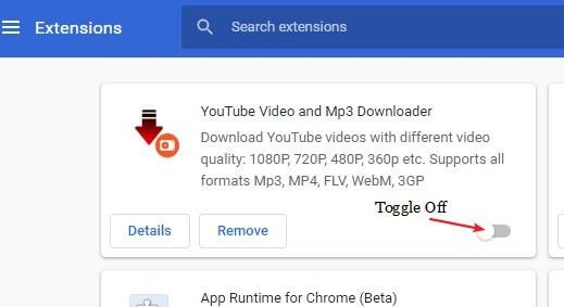 youtube crashing chrome 1